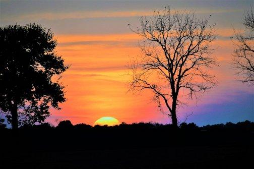 Sunset (photo by Doug Maxwell)