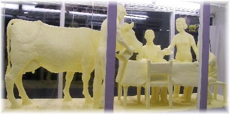 2010 Pennsylvania Farm Show butter sculpure