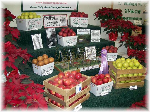 2011 Pennsylvania Farm Show apple display