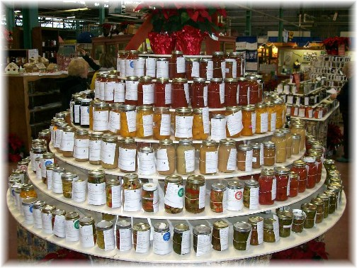 2011 Pennsylvania Farm Show canning display