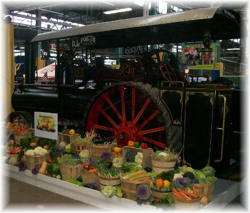 2011 Pennsylvania Farm Show steam tractor