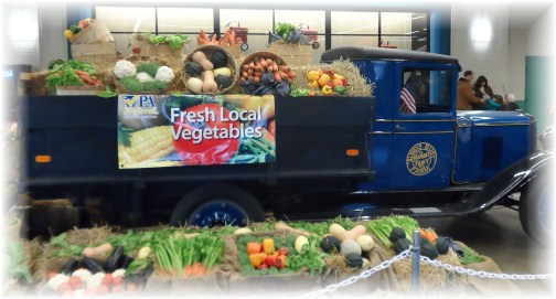 Produce truck at 2013 Pennsylvania Farm Show