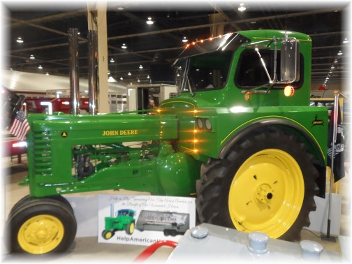 2014 Pennsylvania Farm Show John Deere modified tractor