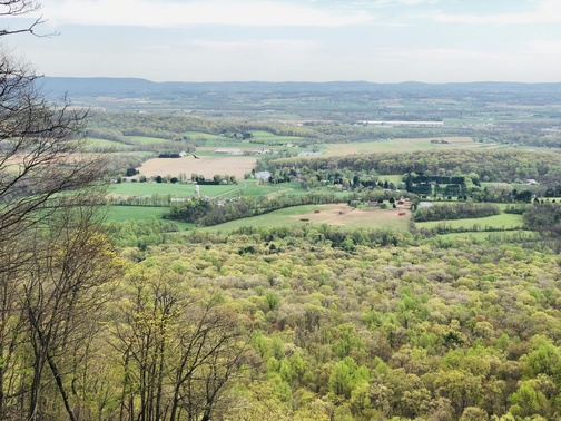 AT overlook  4/23/19 (Click to enlarge)