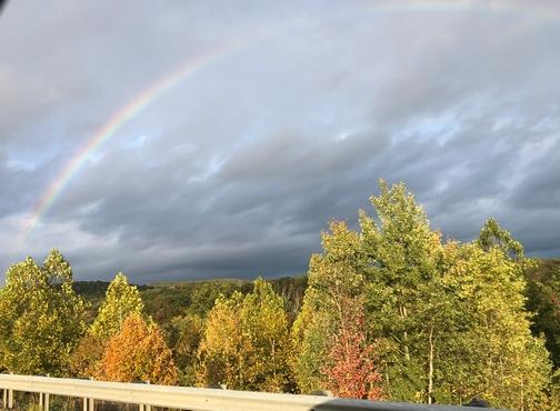 Rainbow near Williamsport, PA