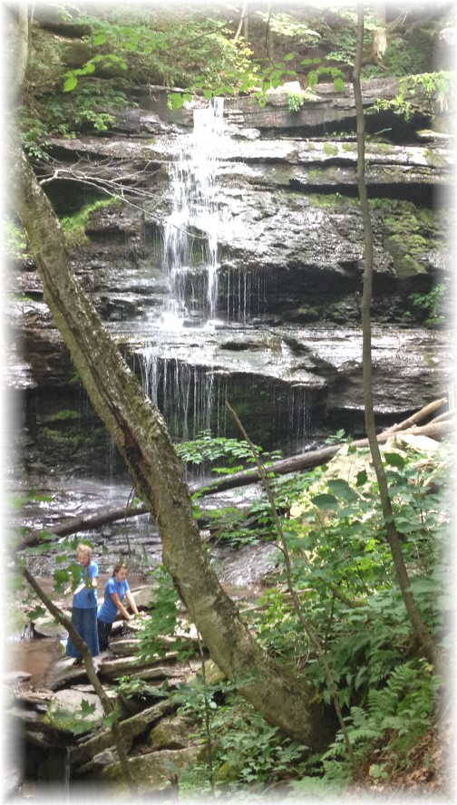 PA grand canyon rail trail 8/16/15