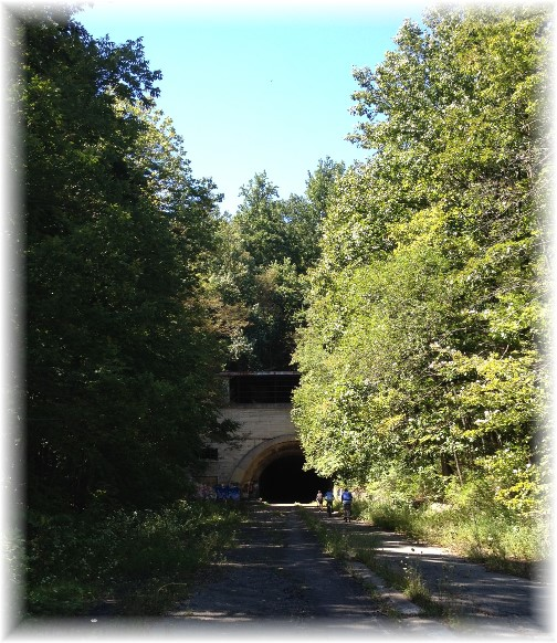 Pennsylvania turnpike abandoned tunnel 9/7/14