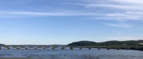 Susquehanna River from Route 30 bridge 6/11/19