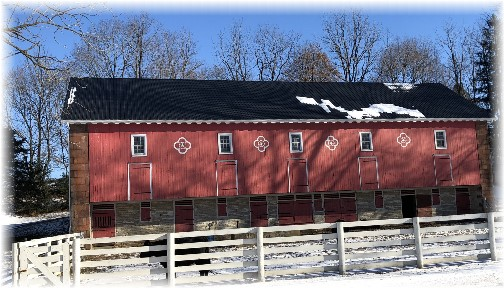 Berks County barn 1/7/18 (click to enlarge)
