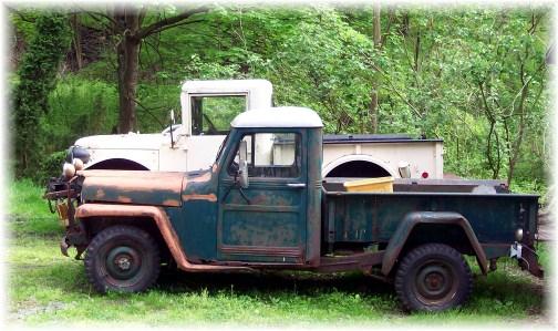 Old trucks in Berks County PA