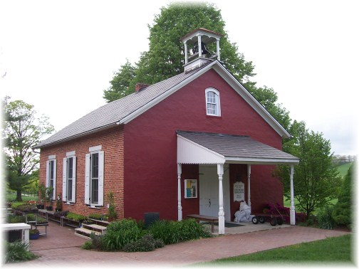 One room schoolhouse in Berks County PA