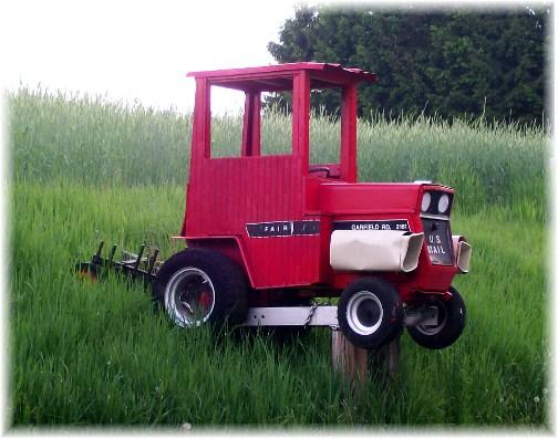 Rural mailbox in Berks County PA