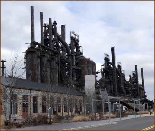 Bethlehem Steel blast furnaces 12/25/18 (Click to enlarge)
