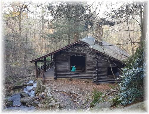 Bordner Cabin in Swatara State Park 10/31/17
