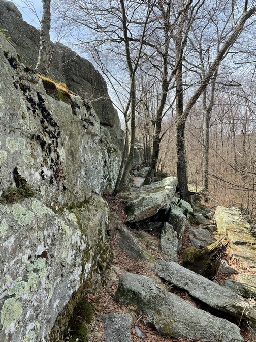 Boxcar Rocks ledge