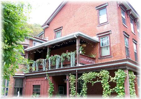 Brick home in Jim Thorpe, PA