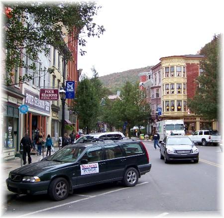 Broadway in Jim Thorpe, PA