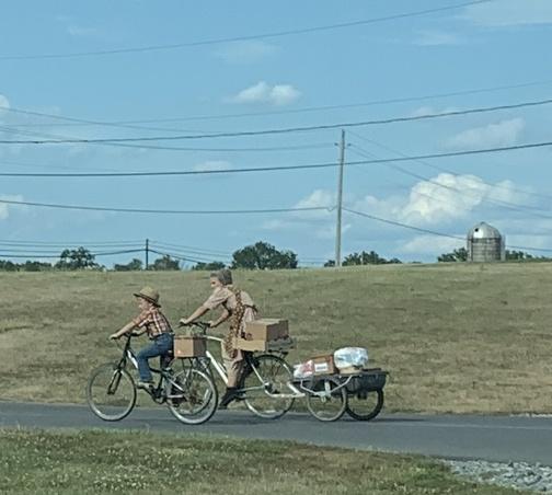 Bikes near Buffalo Valley rail trail