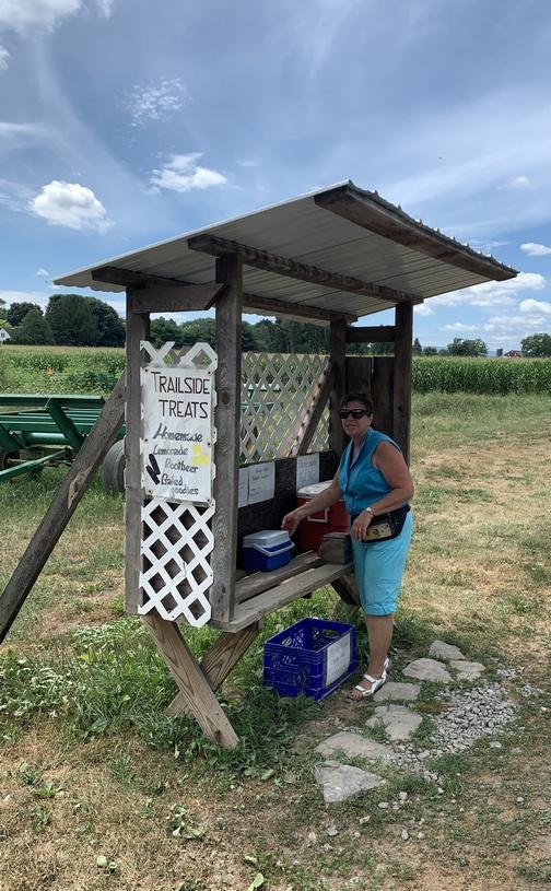 Trailside treats near the Buffalo Valley rail trail