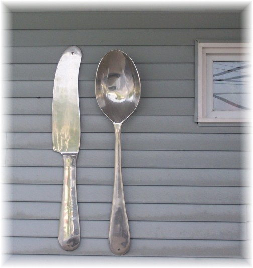Knife and spoon Centerport, Berks County PA
