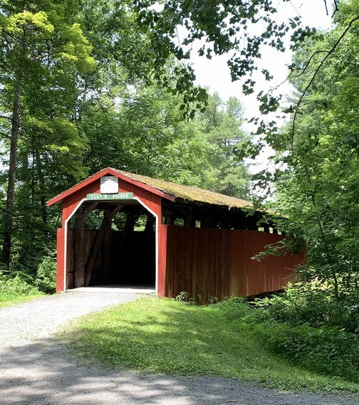 Covered bridge in Little Buffalo State Park