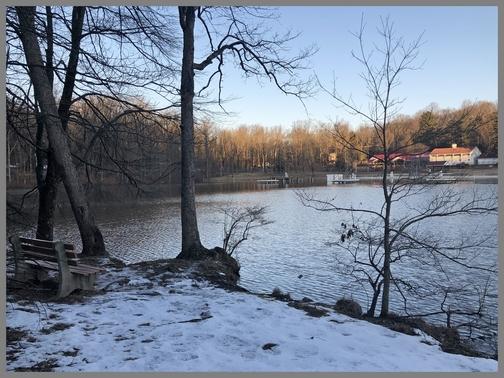 Conewago Lake, Lebanon County, PA 2/26/19 (Click to enlarge)