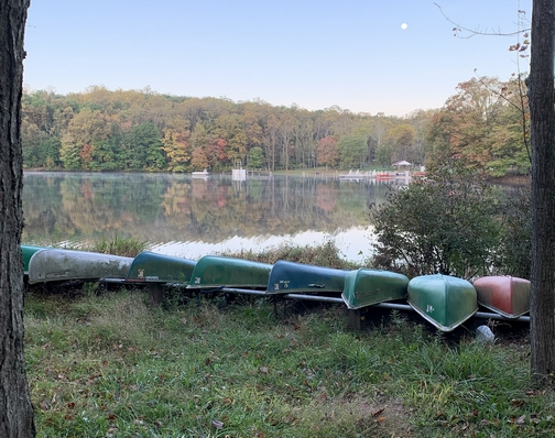 Conewago Lake, Mount Gretna, PA 10/15/19
