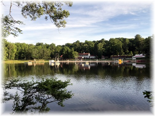 Conewago Lake, Mount Gretna, Lebanon County, PA 6/26/18 (Click to enlarge)