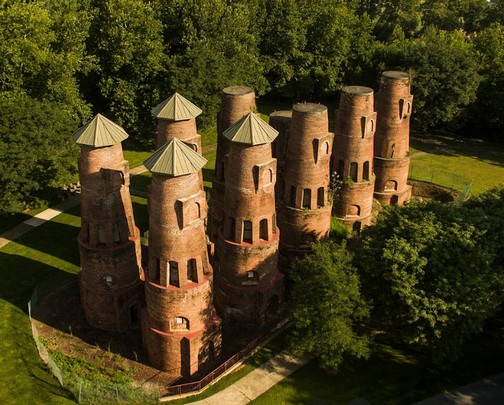 Coplay cement kilns (Photo from Google maps)