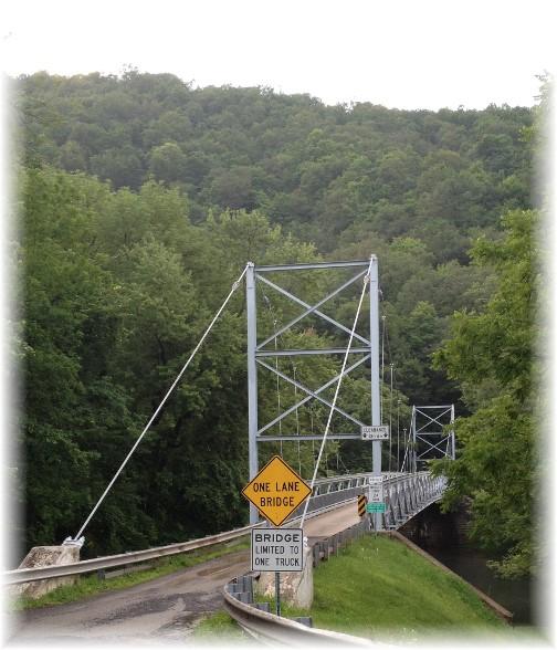 Corbin Suspension Bridge