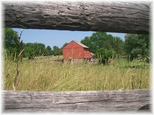 Barn at Daniel Boone Homestead