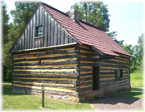 Home at Daniel Boone Homestead