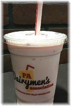 2016 Pennsylvania Farm Show milkshake 1/13/16