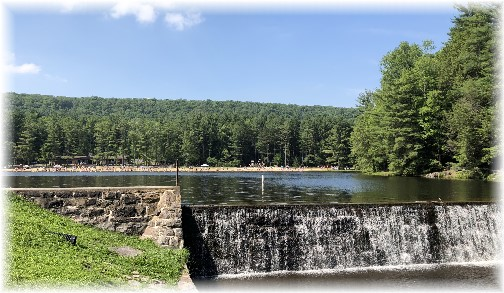 Halfway Lake, Union County, PA 7/1/18 (Click to enlarge)