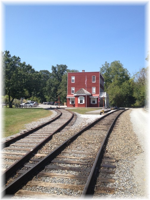 Hanover Junction Rail split on York Heritage Rail Trail 9/8/15