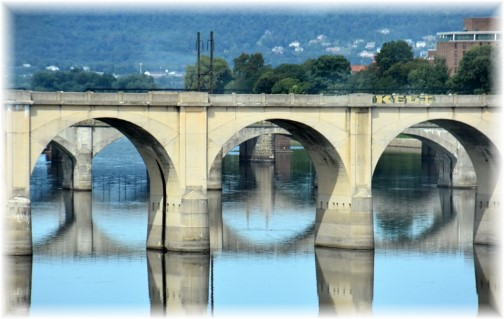 Bridge over Susquehanna River in Harrisburg, PA (photo by Doris High)