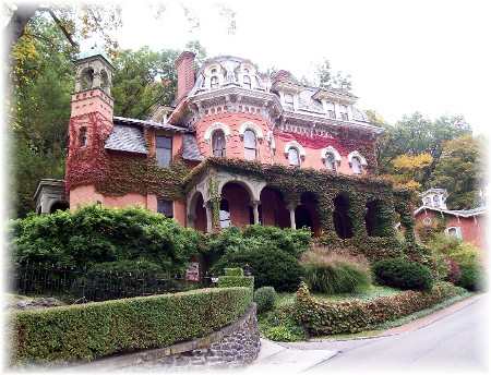 Harry Packer mansion in Jim Thorpe, PA