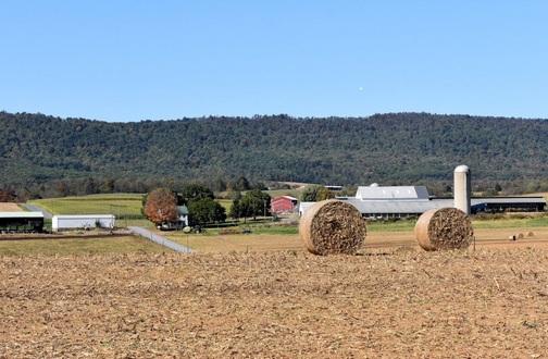 A farm in rural Pennsylvania (Photo by Doris High)