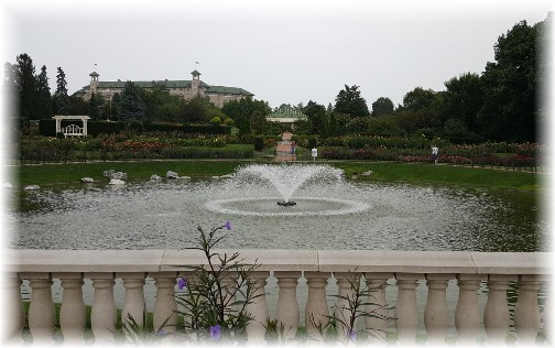 Hershey Garden Fountain and Hotel Hershey 9/5/17