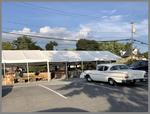 Hershey produce stand 8/30/18