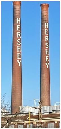 Hershey stacks