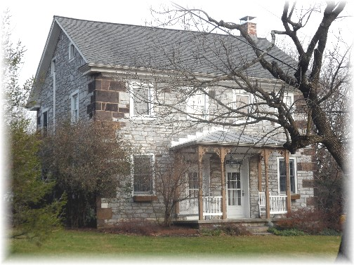 Stone farmhouse near Hershey, PA