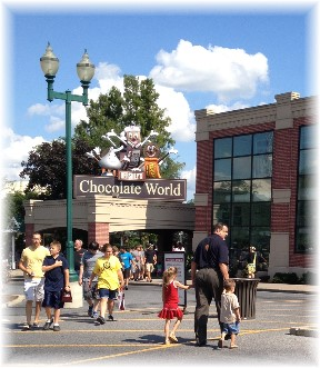 Hershey Chocolate World visit 7/17/14