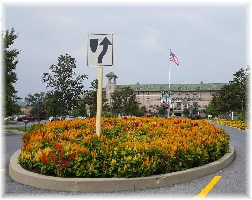 Hotel Hershey entrance 9/5/17
