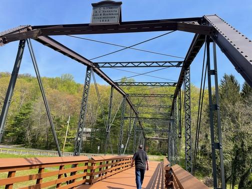Inwood iron bridge (restored)