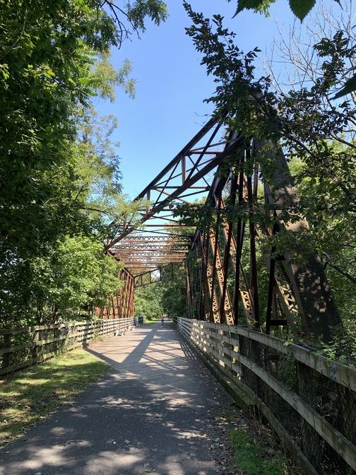 Iron Bridge on LVRT