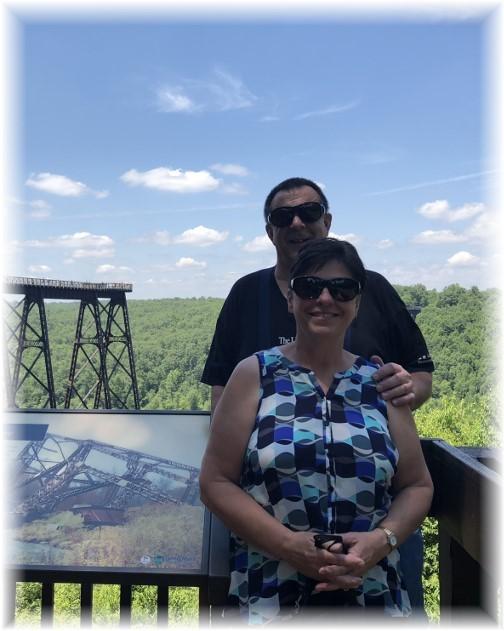 Kinzua Bridge overlook 6/30/18