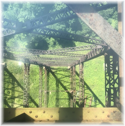 Kinzua Bridge structural steel 6/30/18