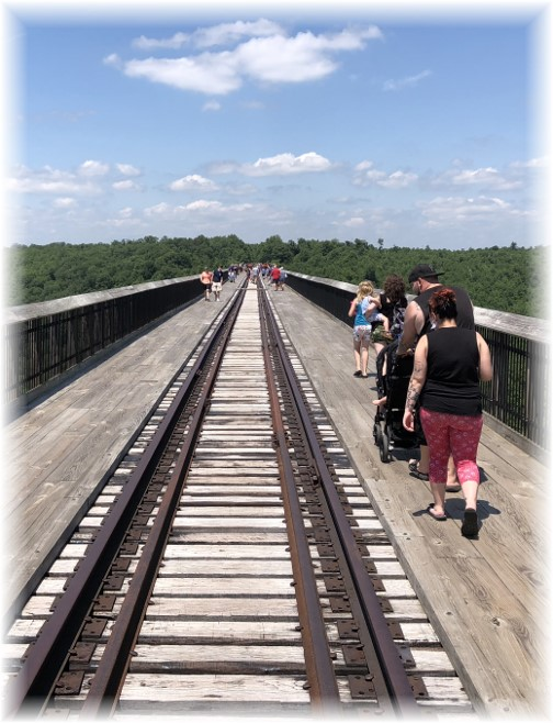 Kinzua Bridge skywalk 6/30/18