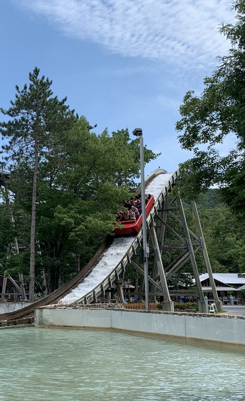 Knoebel's water ride 7/16/19 Click to enlarge